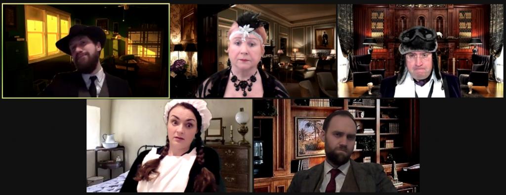 Murder mystery cast